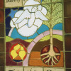 Dove Tile panel, Garden of Rememberance, Brookwood cemetery, Eadtleigh thumbnail