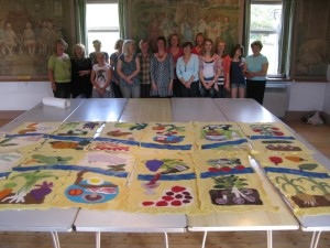 Felt banner makers and banners