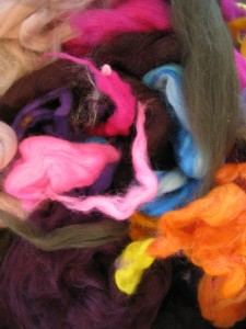 Lovely felt colours