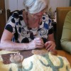 Sue top-stitching the onions thumbnail