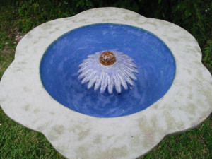 Flower Water feature top